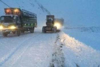 Salang pass blocked due to heavy snowfall